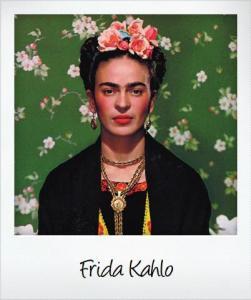 frida polaroid