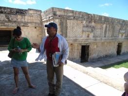 La mia guida Maya ad Uxmal